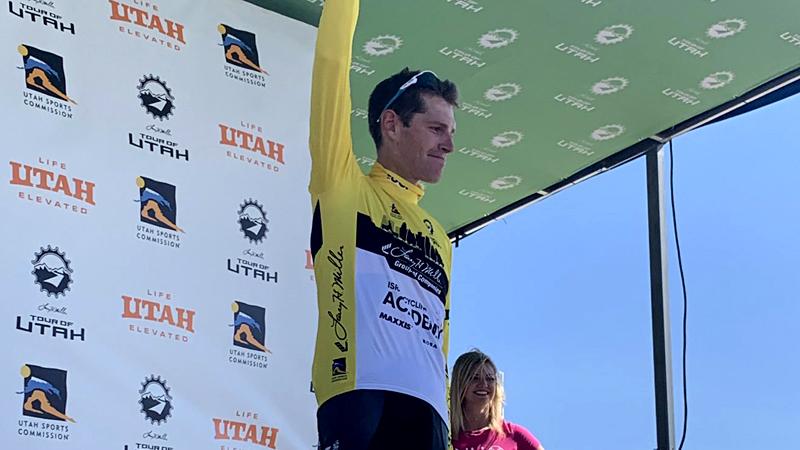 Ben Hermans vainqueur et leader dans l'Utah (VIDEO)