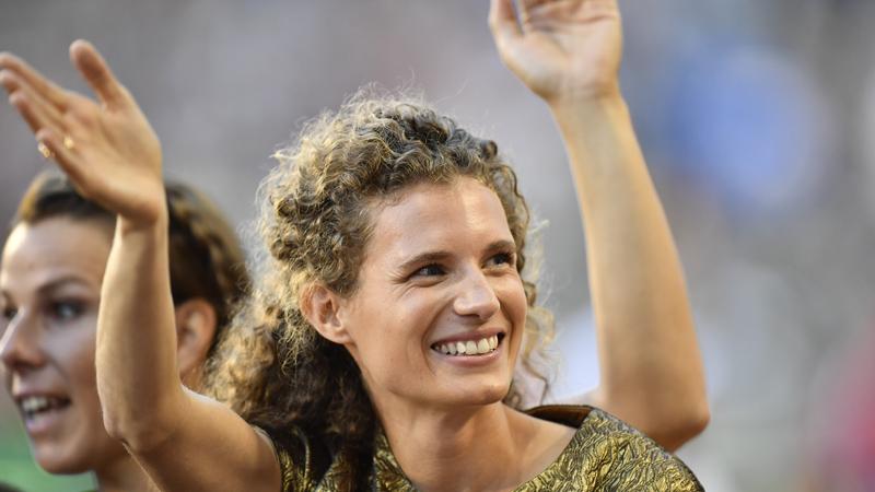 Gouden Olivia Borlée stopt met atletiek