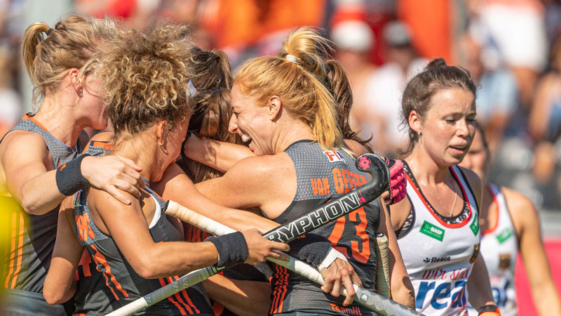 Brilliant Oranje performance earn tenth women's EuroHockey Championship title