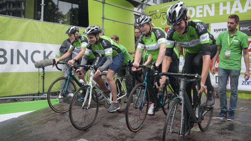 BinckBank Tour teamtijdrit voor wielertoeristen