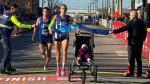 Nieuw halvemarathonrecord met baby in buggy