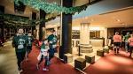 Lopers brengen Mechelen in kerstsfeer