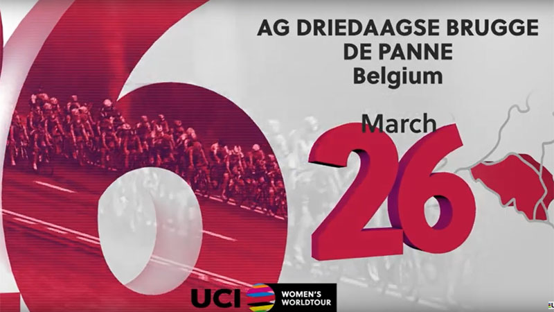 UCI Women's WorldTour 2020 (VIDEO)