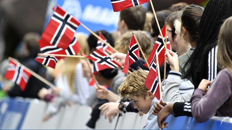 Une étoile commémorative norvégienne pour Bjorg Lambrecht
