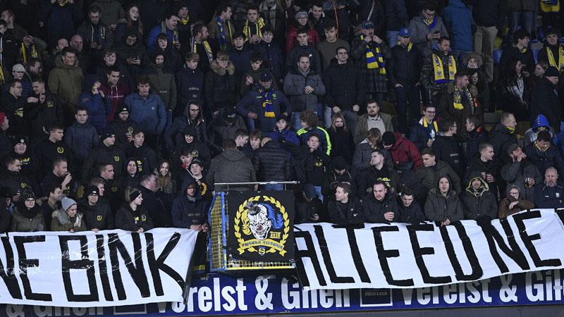 Nombre de spectateurs des 17ème et 18ème journées de Jupiler Pro League
