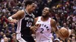 Toronto et Leonard battent San Antonio et DeRozan