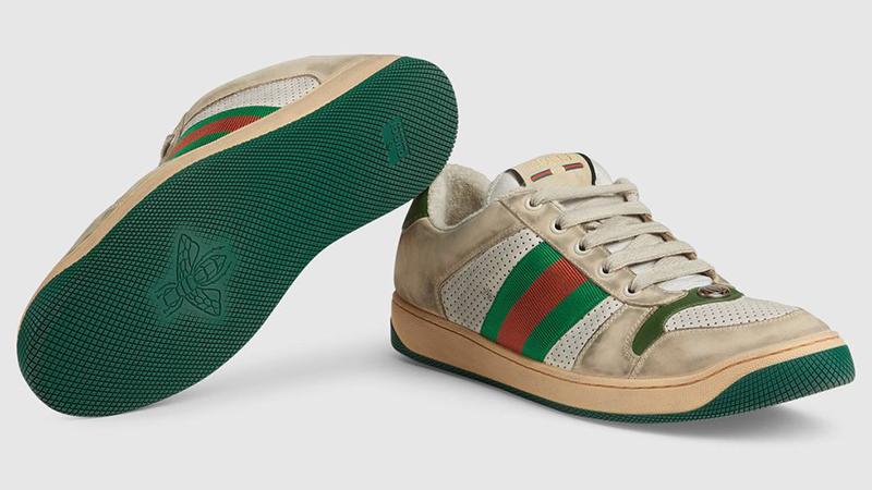 Nieuwe schoen lijkt al paar stevige looptochtjes te hebben doorstaan