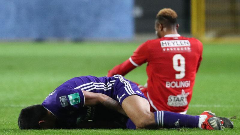 Anderlecht moet sterkhouder 4 weken missen