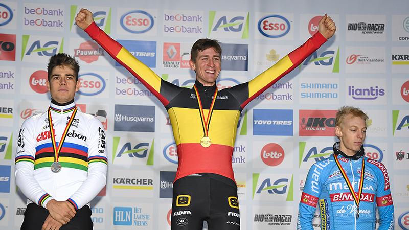 Toon baggert op magistrale wijze naar allereerste Belgische titel