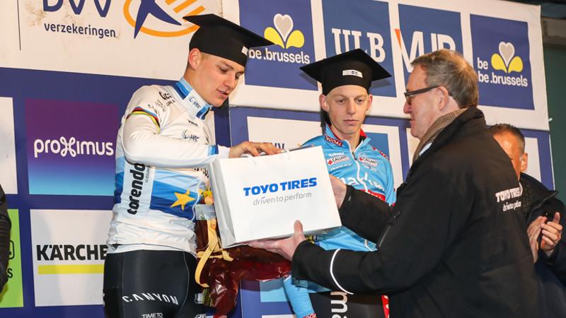 Alles kan weer na Brussel in de DVV Trofee: drie klassementen liggen nog voor het grijpen