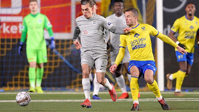 Genk wint beladen derby in Sint-Truiden