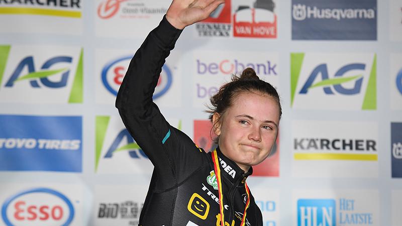 Marthe vice-Belgisch kampioene, Ellen strandt op plek 4
