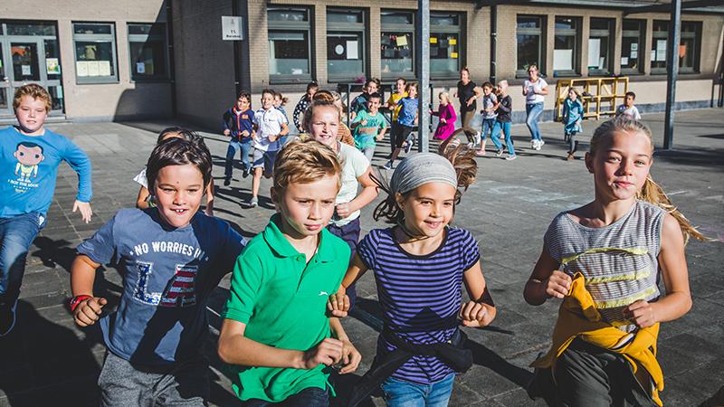 The Daily Mile accueille la 1000ème école belge