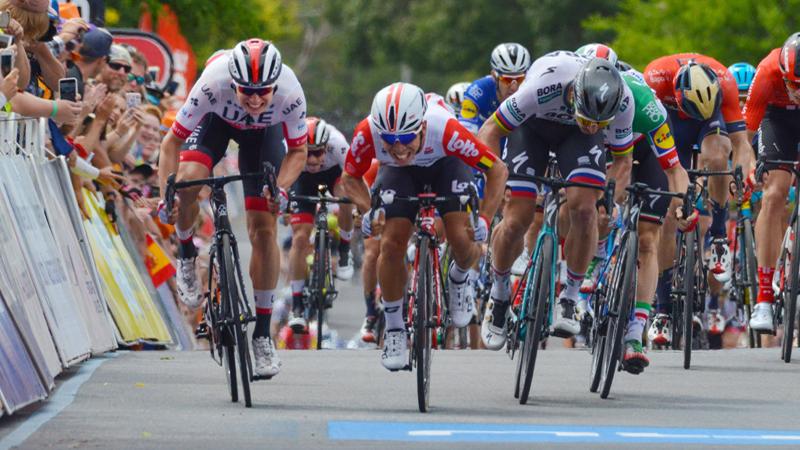 Le Belge Philipsen 2ème mais déclaré vainqueur au Tour Down Under (VIDEO)