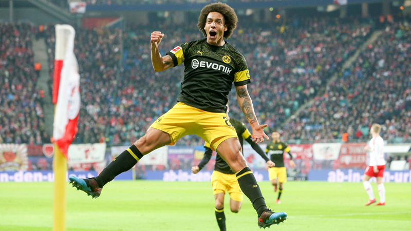 Witsel buteur décisif pour Dortmund (VIDEO)