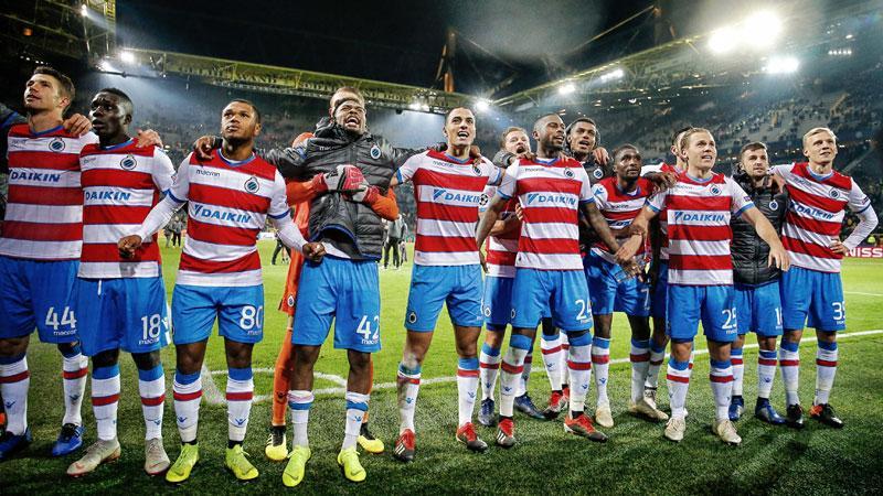 Le Club face au Dynamo Kiev en Ligue des Champions