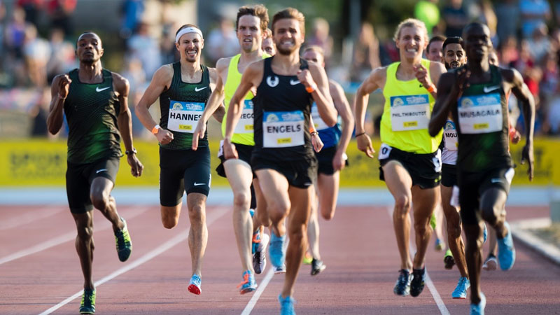 Hannes, Kimeli and Debjani will be in tough company for the 1500m in Heusden