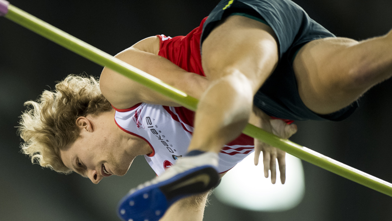 Come to Liège to support Ben Broeders, the new Belgian record holder!