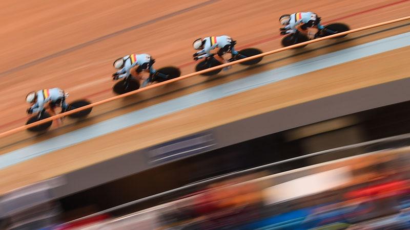 Championnats d'Europe au Vélodrome Eddy Merckx du 9 à 14 juillet
