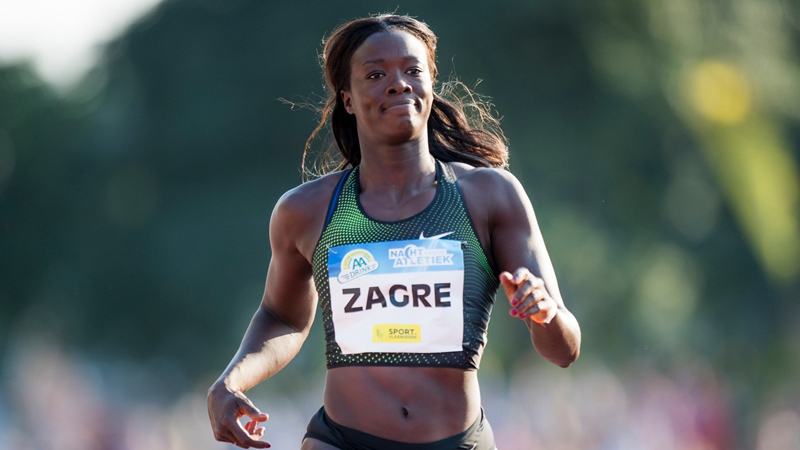 Zagré can shine without worries on the hurdles of Liège