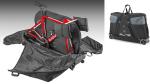 Is de zachte Elite Borson zo veilig als een harde fietskoffer?