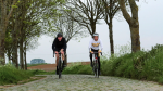 Verkenning van het BK-parcours met Ludo Dierckxsens