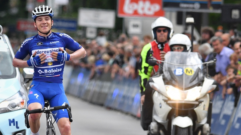 Evenepoel: 'Met kippenvel over de finish gereden'