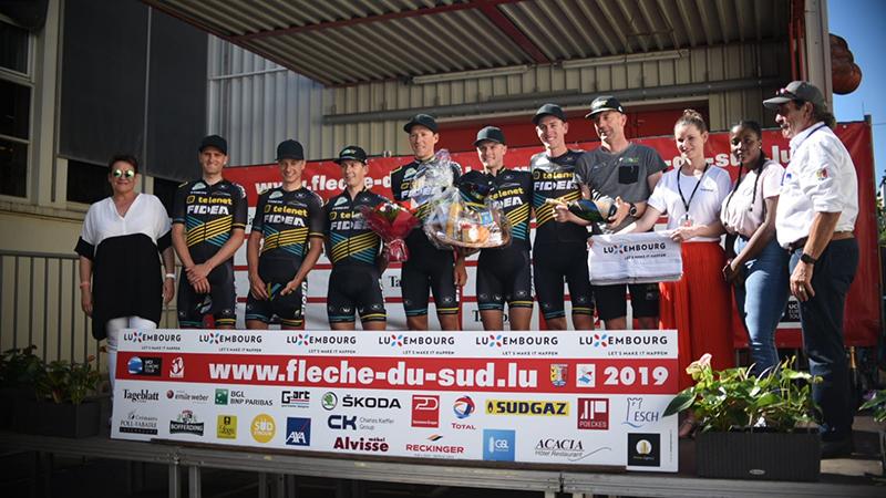 Quinten en Toon 1-2 in eindklassement Flèche du Sud