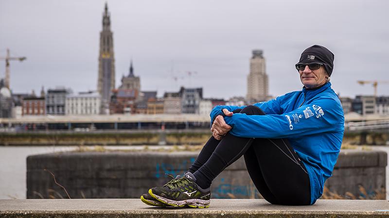 Antwerpenaar heeft aparte oplossing voor trainingen in warm weer