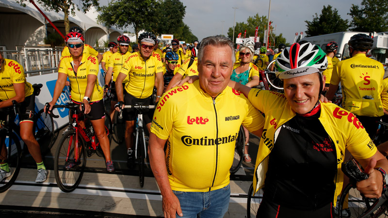 Folle de cyclisme, Gand entre dans le Guinness Book of Records grâce à la Yellow Ride