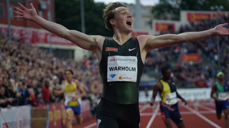 Warholm snelt naar Europees record in eigen Oslo