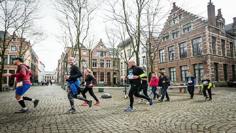 L'Antwerp Urban Trail attire 10.000 sportifs
