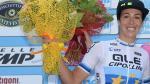 Marta Bastianelli en Pim Ligthart vieren in Ronde van Drenthe