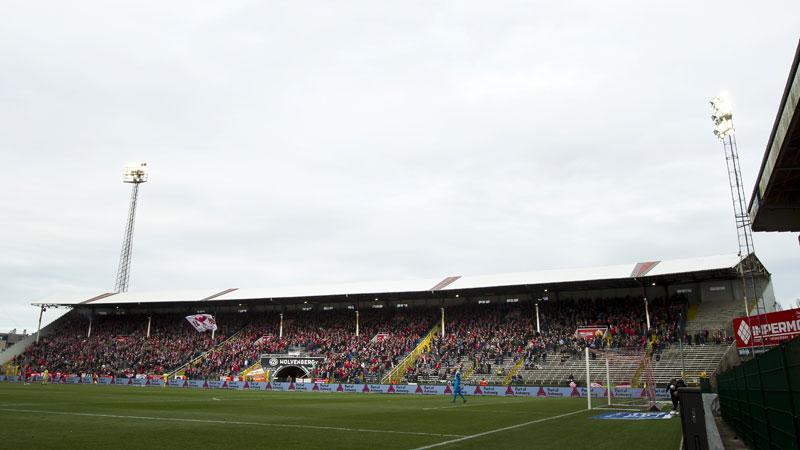 Antwerp bouwt nieuwe tribune voor start Play-Offs