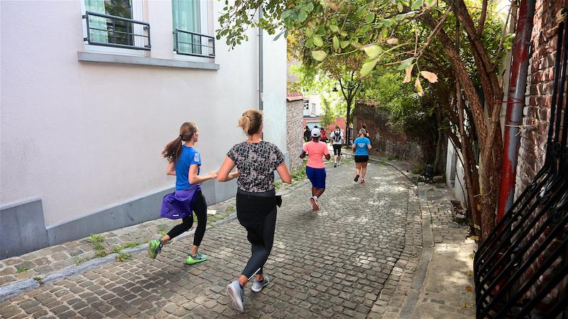 Belle édition du Fintro Jogging dans la capitale de l'Europe