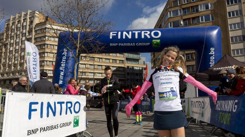 Geslaagde Fintro Jogging in Europese hoofdstad