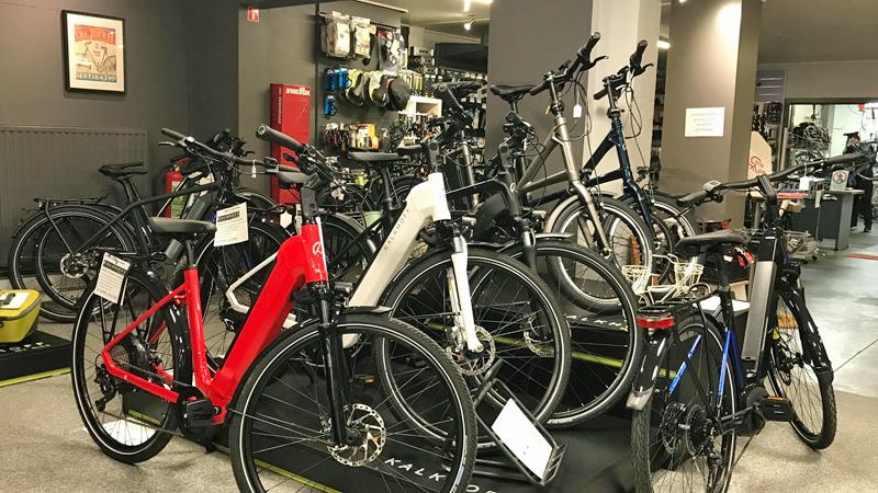 CYCLINGSHOP MONDELAERS: Molteni-Merckx siert de showroom