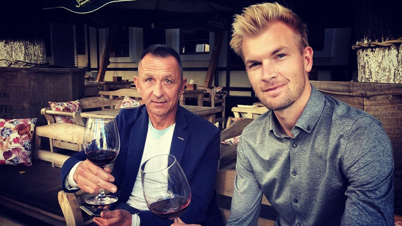Ruben Van Gucht ontmoet Andrei Tchmil, 20 jaar na zijn Sanremo