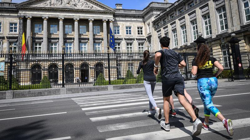 Brussels Urban Trail - Parlement