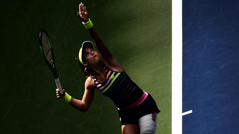Tennis: Nicole Gibbs souffre d'un cancer des glandes salivaires