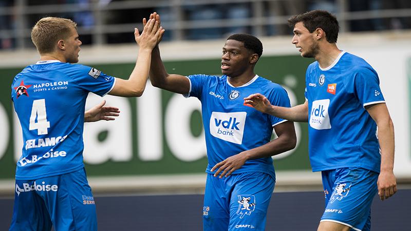 La Gantoise prend le meilleur sur Anderlecht