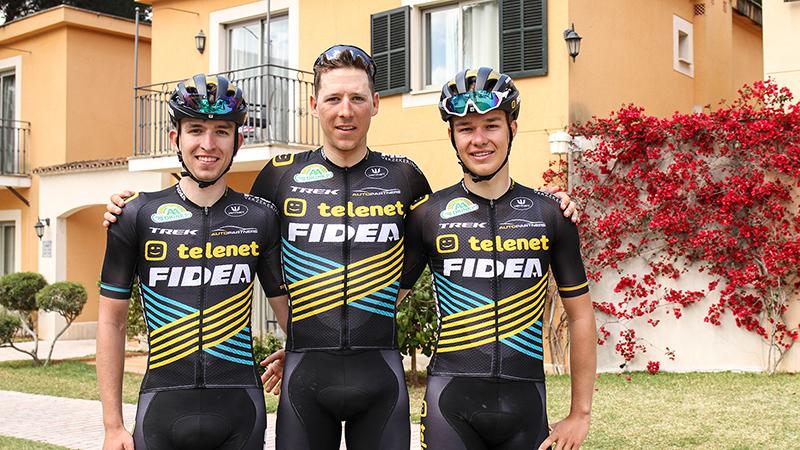 Nicolas Cleppe en twee beloften verlengen bij Telenet Fidea Lions