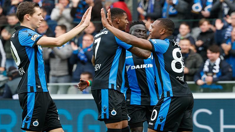 Le Club de Bruges envoie l'Antwerp en barrages pour l'Europe