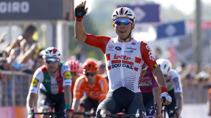 Ewan sprint naar tweede ritzege, Conti blijft leider