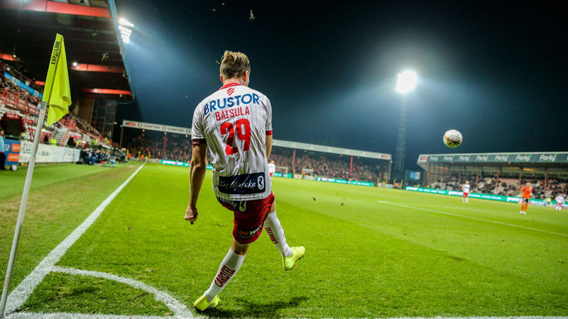 KV Kortrijk en Sporting Charleroi spelen finale van Play-Off 2