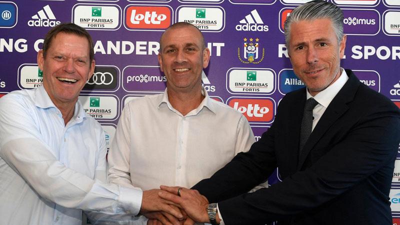 Davies nouveau T1 d'Anderlecht
