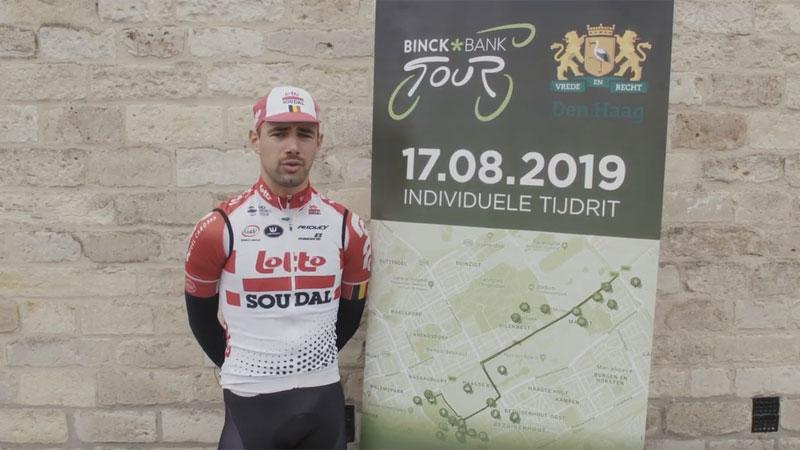 BinckBank Tour 2019: Campenaerts kijkt uit naar tijdrit in Den Haag