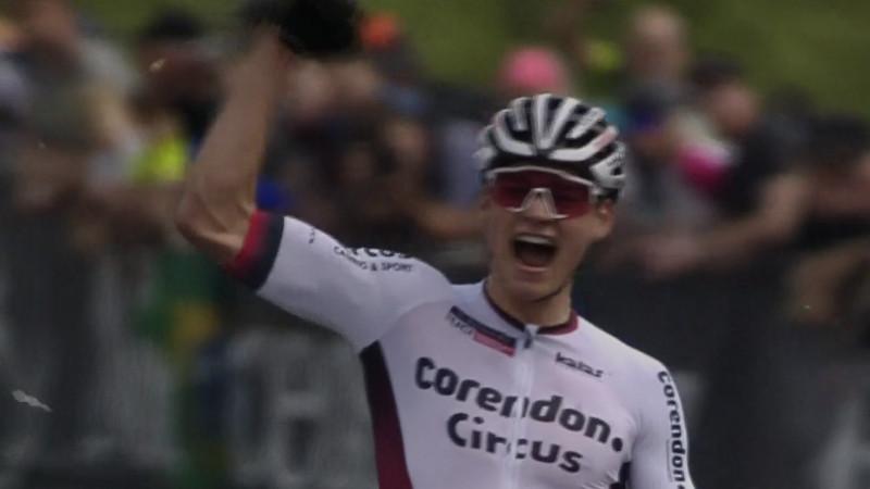 Première victoire pour Van der Poel en Coupe du Monde de mountainbike