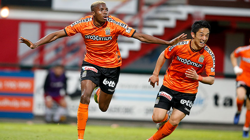 Résumé Courtrai - Sporting Charleroi