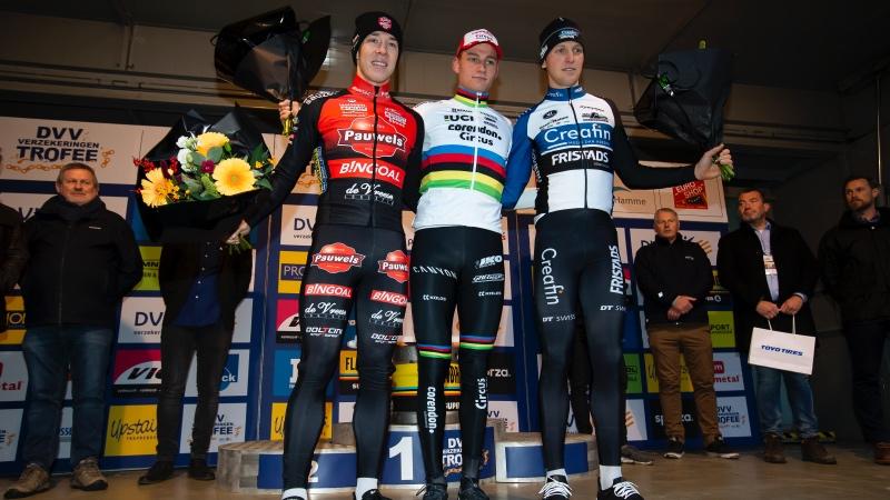 Van der Poel: 'Mooi om op deze manier te winnen'